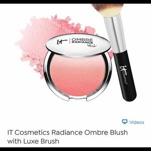 It Cosmetics. Ombre blush and brush
